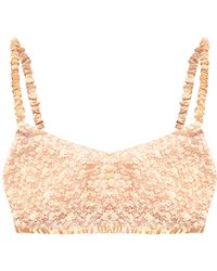 Forte Forte Lace Bra - Pink