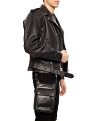Amiri Leather Pouch - Black