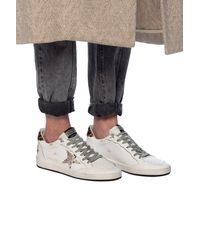 Golden Goose Deluxe Brand 'superstar' Distressed Sneakers White