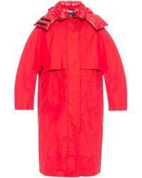 3 MONCLER GRENOBLE 'tervela' Jacket - Red