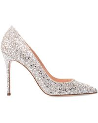 Sophia Webster 'rio' Stiletto Court Shoes With Sequins - Metallic