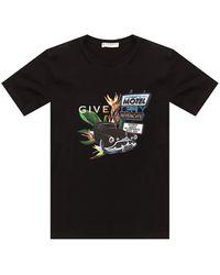 Givenchy Printed T-shirt Black