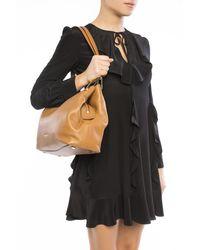 Michael Kors 'raven' Shoulder Bag Brown