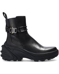 1017 ALYX 9SM Chelsea Boots With Chunky Sole Black