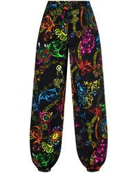 Versace Jeans Couture Joggers With Logo - Multicolour