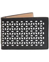 Alaïa Bi-fold Card Case - Black