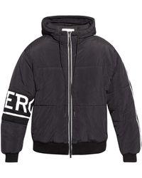 Iceberg Hooded Jacket - Black