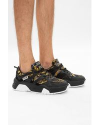 Versace Jeans Couture Sneakers With Logo Black