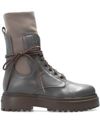 Le Silla 'ranger' Ankle Boots Grey