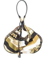 Versace Patterned Hand Bag Multicolour