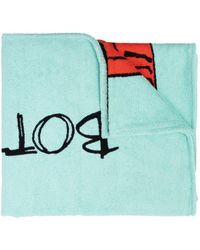 Bottega Veneta Bath Towel Blue