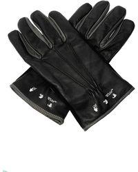 Off-White c/o Virgil Abloh Leather Gloves Black