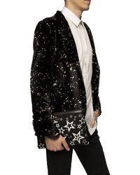 Dolce & Gabbana 'millennials Star' Printed Clutch Black