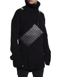 Bottega Veneta 'intrecciato' Belt Bag Black
