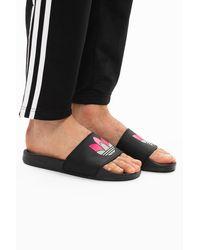 adidas Originals 'adilette Lite W' Slides Black