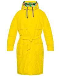 Versace Reversible Down Coat - Yellow