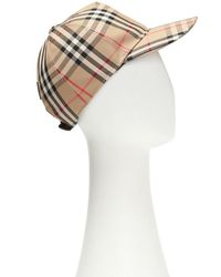 Burberry Vintage Check Cap - Multicolor