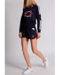 COACH Branded Sweatshirt - Blue