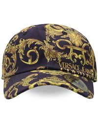 Versace Jeans Couture Baseball Cap - Black