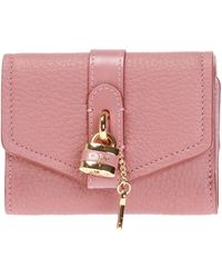 Chloé 'aby' Wallet - Pink