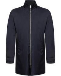Giorgio Armani - Detachable Lining Coat - Lyst