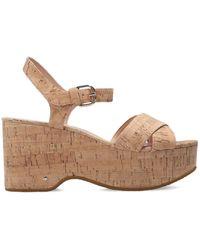 Kate Spade 'jasper' Platform Sandals Brown