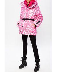 DSquared² Ski Jacket With Logo Pink