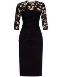 Off-White c/o Virgil Abloh Branded Dress - Black