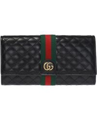 e7e6f20a2e0d37 Gucci - 'GG Marmont' Quilted Wallet - Lyst