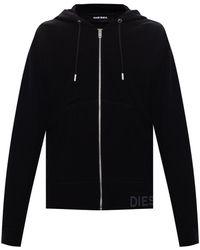 DIESEL Hooded Sweatshirt Black