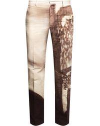 Fendi Pleat-front Pants Beige - Natural