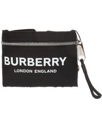 Burberry Hand Pouch - Black
