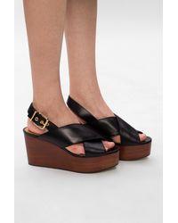 Marni Platform Sandals Black