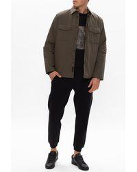 Rag & Bone M42 Cotton Blend Jack Shirt Jacket Classic Fit Jacket - A|climate - Green