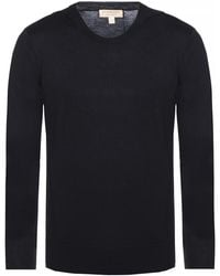 Burberry - V-neck Sweater - Lyst