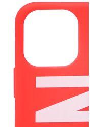 DSquared² Iphone 11 Case Unisex Red