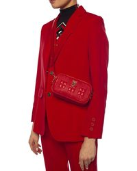 Burberry Belt Bag With Logo - Red