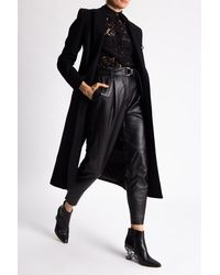 Philipp Plein Lace Shirt - Black
