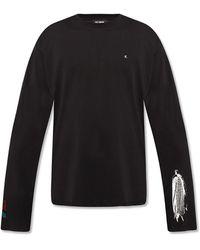 Raf Simons Long-sleeved T-shirt - Black