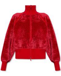 Y-3 Sweatshirt With Mock Neck - Red