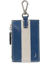 Jacquemus Wallet With Clip - Blue