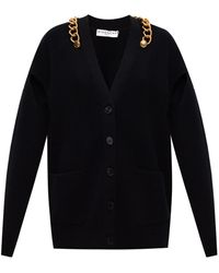 Givenchy Cut-out Cardigan - Black