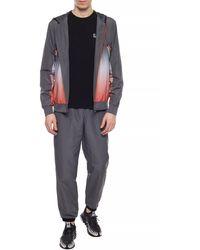 EA7 Hoodie & Sweatpants Set Gray