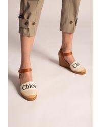 Chloé Wedge Slides - Multicolour