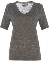 Isabel Marant - V-neck T-shirt - Lyst