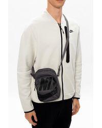 Nike Branded Shoulder Bag - Grey