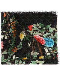 Gucci - ' Tian' Printed Shawl - Lyst