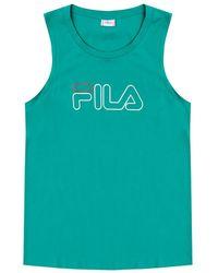 Fila Logo-printed Tank Top Green