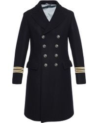 Gucci | Single-vented Double-breasted Coat | Lyst