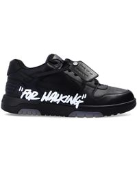 Off-White c/o Virgil Abloh - 'out Of Office' Sneakers Black - Lyst